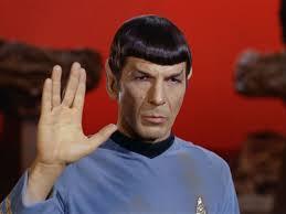 Leonard Nimoy interprète Spok dans Star Trek