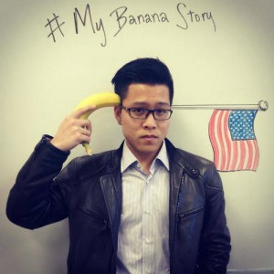 #MyBananaStory, photo d'un jeune étudiant asian american