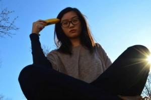 #MyBananaStory, photo d'une jeune asiatique américaine