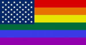 Drapeau LGBT des Etats-Unis
