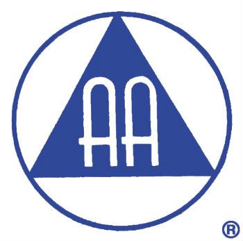 Logo des Alcooliques Anonymes