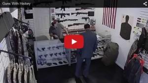 Guns with history (armes à feux avec une histoire) - capture d'écran Youtube