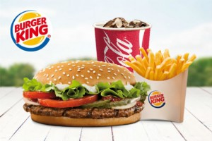 Menu Burger King