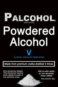Alcool en poudre Palcohol