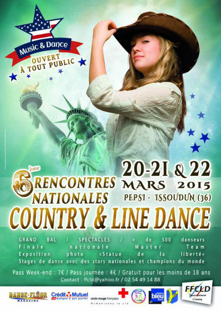 6e rencontres nationales de danse Country et Line Dance