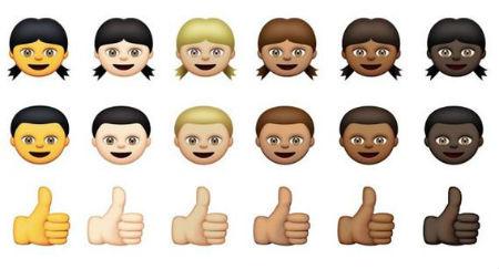 diversité : nouveaux emojis d'apple