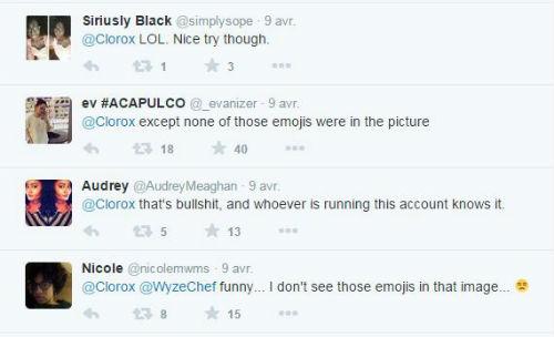 réactions au tweet polémique de Clorox