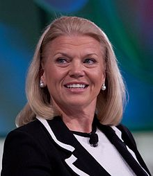 Ginni Rometty, PDG d'IBM