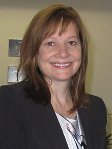 Mary Barra, PDG de General Motors