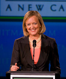 Meg Whitman, PDG de  Hewlett-Packard