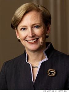 Ellen Kullman, PDG de Dupont
