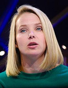 Marissa Mayer, PDG de Yahoo